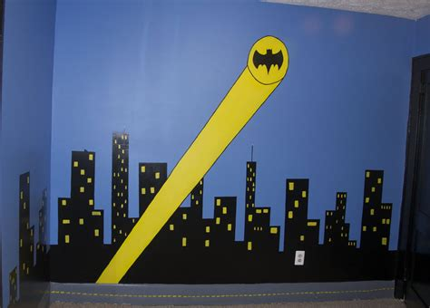 Wall Stickers Outlet sleeping in gotham city a batman bedroom