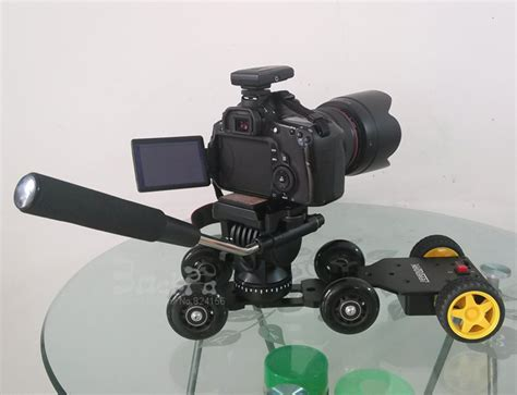 motorized tripod 3in1 table photography dolly professional tripod