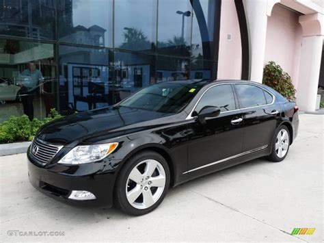 and black ls 2007 obsidian black lexus ls 460 l 15707399 gtcarlot