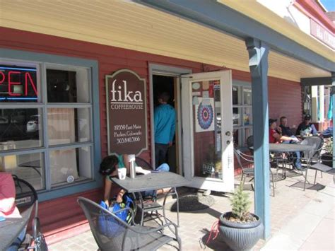 fika coffee house foto de fika coffee house parker my friend geoff surrat checking his social network