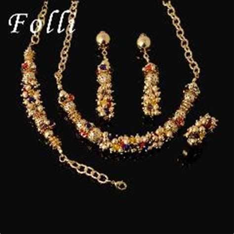New Trend 24k Gold Nersels Designer Trendy Gold Jewelry by New Fashion Wedding Jewelry Sets