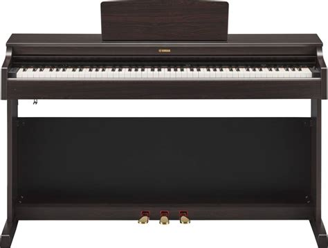 digital piano bench yamaha ydp163 arius digital piano with bench rosewood