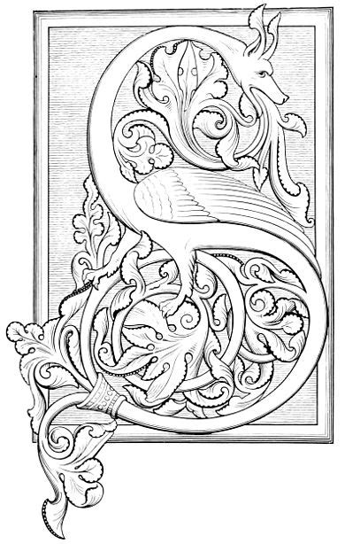 Illuminated Manuscripts In Classical And Mediaeval Times Chapter 11 Wikisource The Free Color In Letter Template