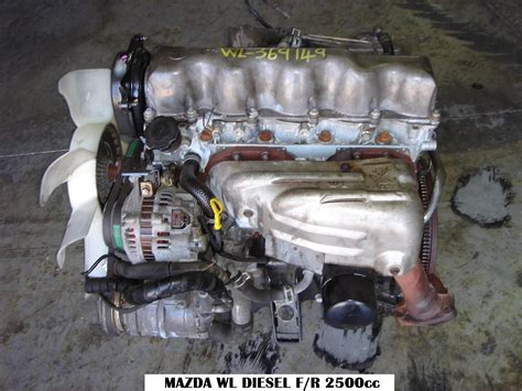 mazda engines mazda wl 2 5 diesel non turbo