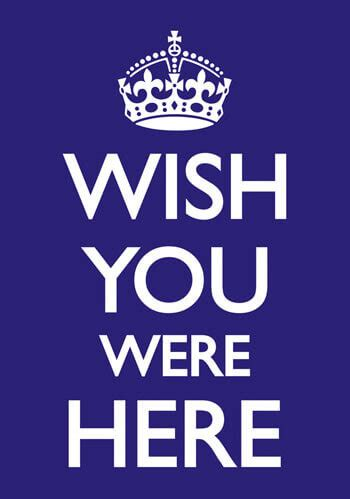 Wish You Were Here Oh Really by Wish You Were Here Postcard Dpo 36 163 0 70 Rude