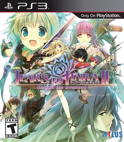 tears to tiara ii heir of the overlord release date ps3