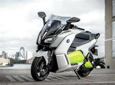 bmw unveils the c evolution electric scooter design engine