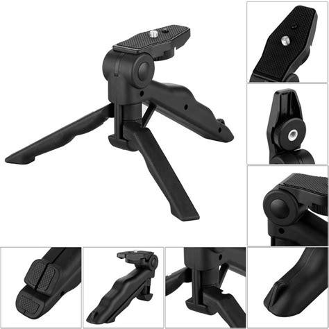 2 In 1 Portable Mini Folding Tripod Dslr Tripod Mini 21 paket 2 in 1 portable mini folding tripod for dslr universal cl sc xl jumbo black