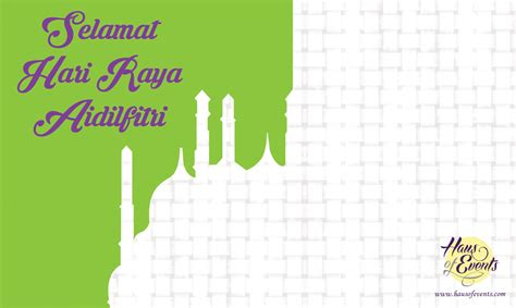 hari raya card template free diy raya greetings card template hausofevents