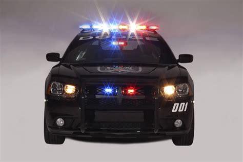 Dodge Charger Pursuit Police Vehicle With Mopar Push