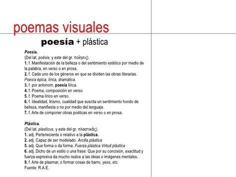 imagenes visuales poesia poemas visuales