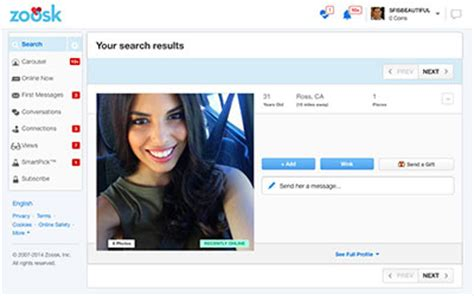 Zoosk Search Zoosk Review Consumer Rankings
