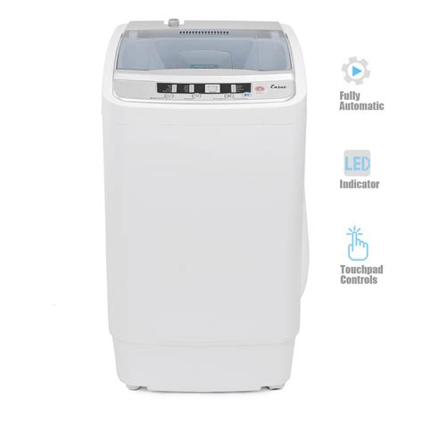 haier 1 5 cu ft top load portable washer in white hlp24e