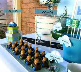 car themed baby shower decorations images