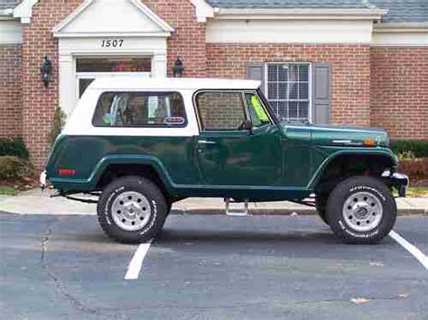 1970 jeep commander purchase used 1970 jeepster commando in vincentown