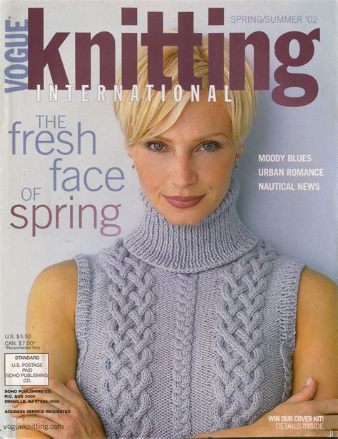 vogue knitting uk vogue knitting summer 2002 lace dress stripes