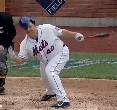 Bartolo Colon Loses Helmet Carries Bat To First Video