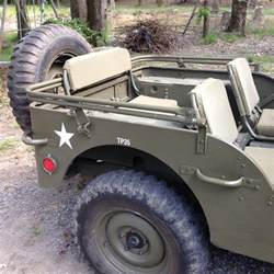 wwii willys mb ford gpw army jeep top bow