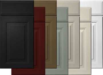 kitchen cabinets with different colored doors premier paint collection 6 square cabinets