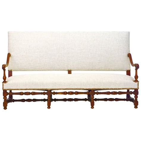 Settee Bench For Sale 19th Century Jacobean Style Settee Or Bench With Back