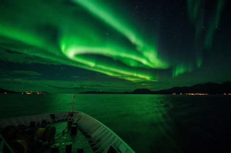 northern lights cruise december 2017 see the northern lights on a stunning cruise along