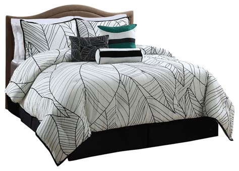 new zealand 7 piece comforter set contemporary