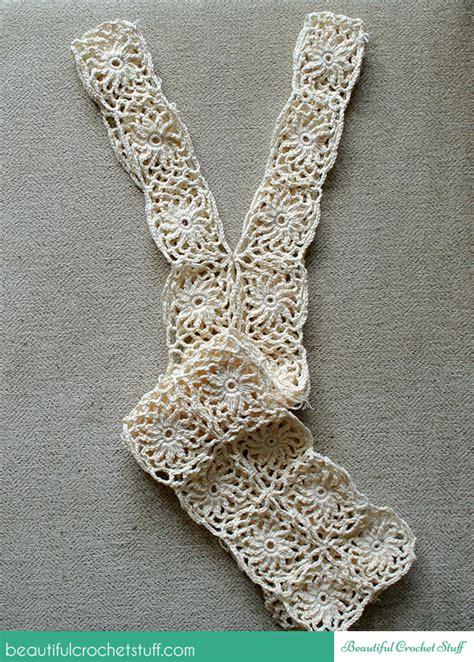 crochet leaf tunic free pattern beautiful crochet stuff