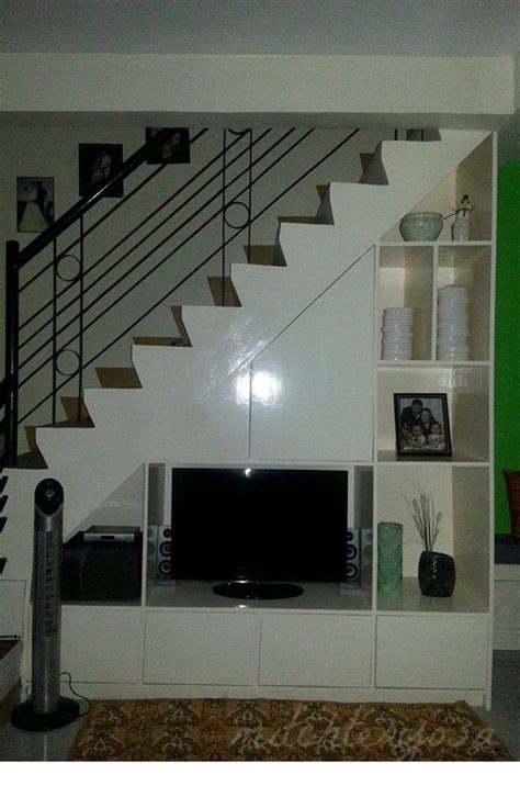 tv cabinet   staircase stairs  living room
