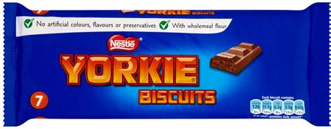 yorkie biscuit nestle yorkie biscuits 7 per pack 172g shop abroad