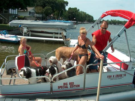 16 ft pontoon boat for sale 16 ft x 6 ft wide cruise pontoon with movie