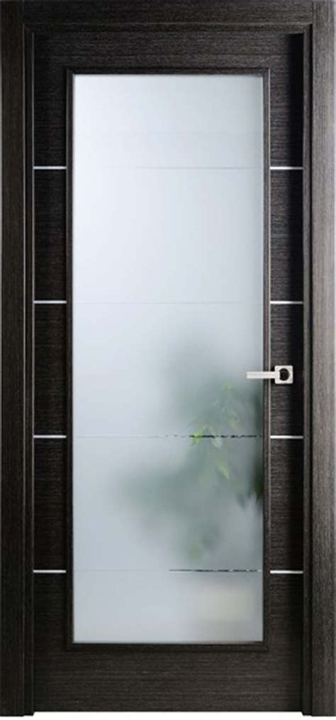 Modern Frosted Glass Interior Doors Exquisite Modern Interior Doors With Glass Simple Modern Design For Single Interior Doors With