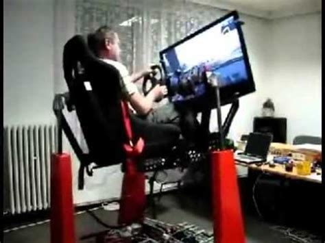Racing Simulator Chair Hydraulic Amazing Gaming Chair Simulator For Racing