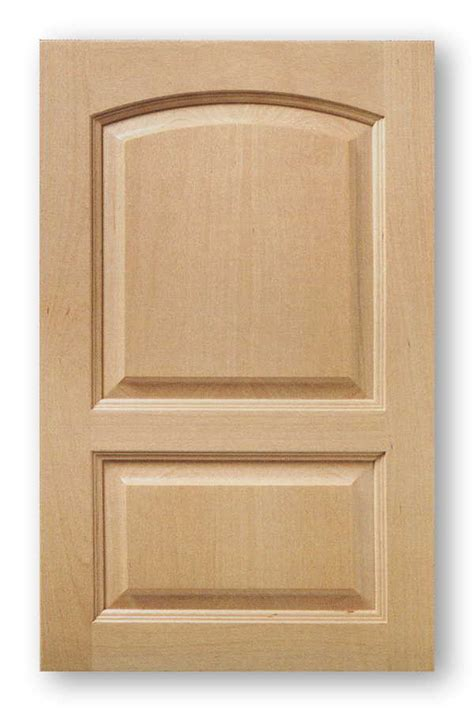 Beech Arch Top Raised Panel Cabinet Door 2 Panel Phoenix Beech Kitchen Cabinet Doors