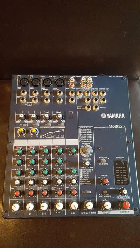 Baru Mixer Yamaha Mg82cx yamaha mg82cx image 1564763 audiofanzine