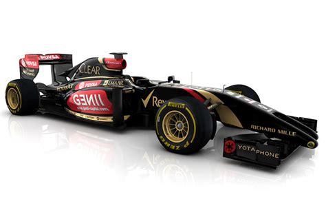 lotus 2014 f1 car lotus reveals split nose e22 2014 f1 car hours after team