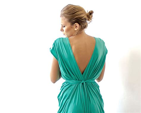 Dress Rumbai Fk 52b Green green maxi bridesmaids dress green sleeves dress