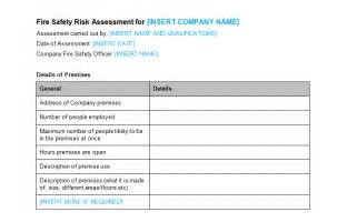 Retail Risk Assessment Template by Risk Assessment Template Http Webdesign14