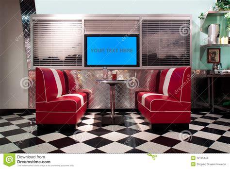 vintage 1950s 50s retro interior retro style interior stock photo image of barstool deco