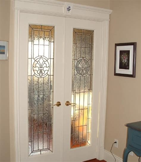 Leaded Glass Interior Doors Interior Glass Doors Design Ideas For Your Home Home Doors Design Inspiration