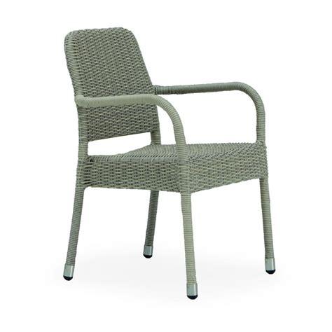 chaise pour table de jardin avec accoudoirs brin d ouest