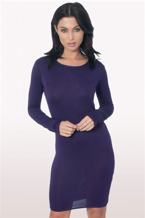 light purple bodycon dress purple long sleeve bodycon dress dresses modamore