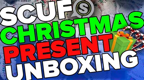 Scuf Giveaway - christmas scuf unboxing scuf giveaway doovi