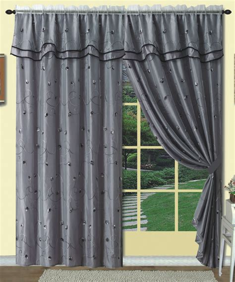 luxury home textiles curtains dorothy embroidery curtain panel brown luxury home