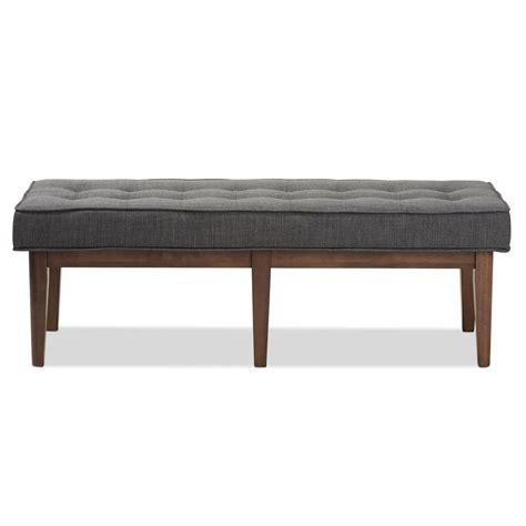 baxton bench baxton studio lucca dark grey bench 28862 7567 hd the