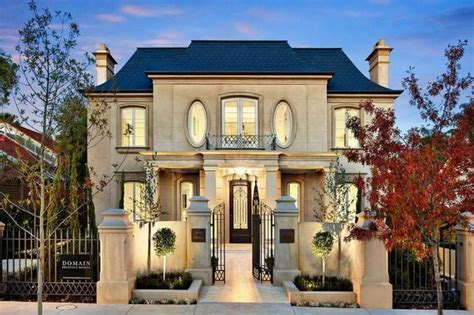 French House by French Provincial Facade New House Precedence