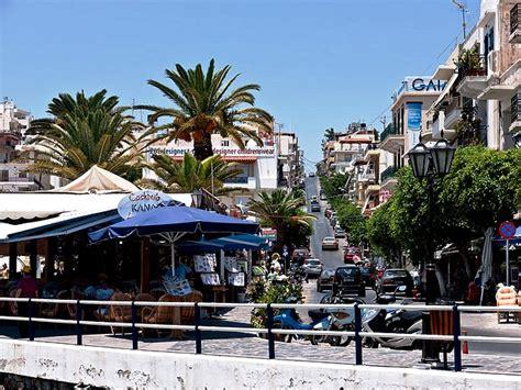 Agios Nikolaos Crete   by Mirabello Bay in the east of the island