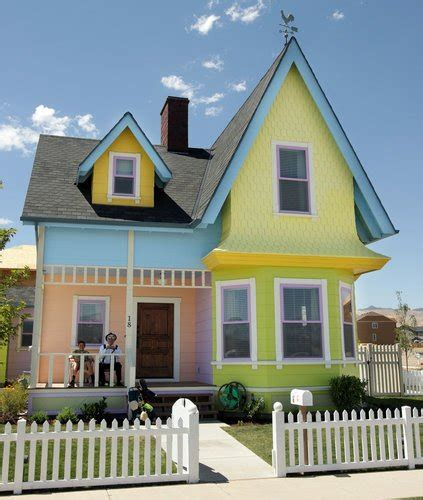 film up house disney allows reproduction of up house in utah the new