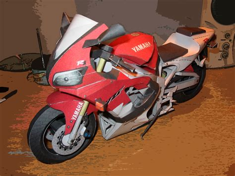 Papercraft Yamaha - yamaha papercraft by lsl925 on deviantart
