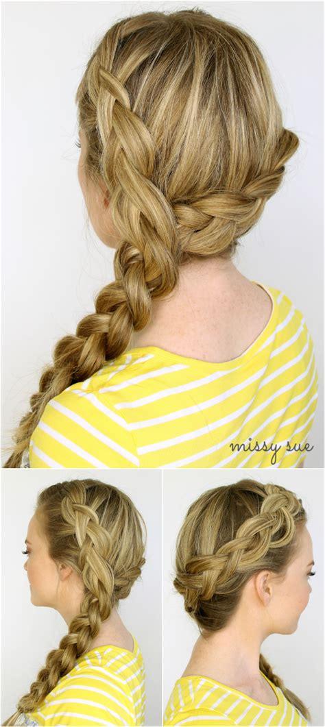 two dutch braids hairstyles two dutch braids 6 hairstyles