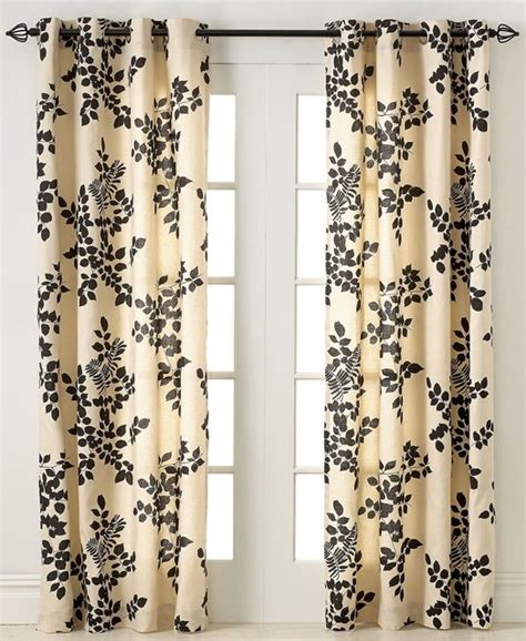 transitional curtains miller curtains simsbury collection panel chocolate